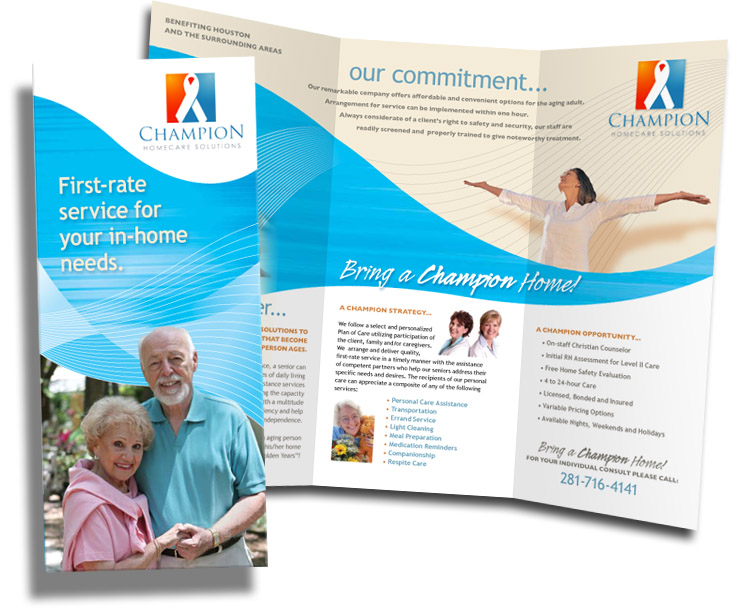 Free Tri-Fold Brochure Templates | Senior Living Community - Tri ...